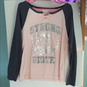Girls Sparkle Long Sleeve